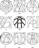 Monogramme ASA - AU