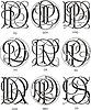 Monogramme DP - DS