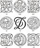 Monogramme DS - DU