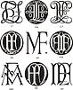 Monogramme FL - FN