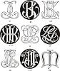 Monogramme JJ - JP
