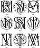Monogramme MRR - MT