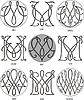 Monogramme MU - MW