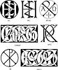 kirchliche Monogramme