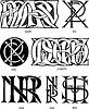 christiliche Monogramme