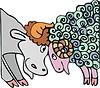 Stier und Widder