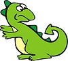 Drache Cartoon