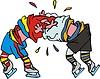 Eishockey Cartoon