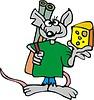 Ratte und Käse