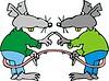 Ratte Cartoon