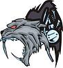Cyborg Wolf Tattoo