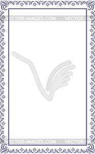 Ornamentaler Rahmen - Clipart