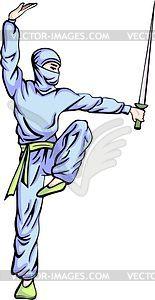 Ninja (Shinobi) - Vector-Design