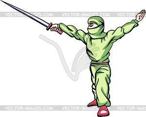 Ninja (Shinobi) - Vektor-Clipart / Vektor-Bild