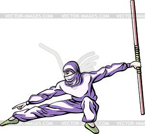 Ninja (Shinobi) - Stock-Clipart