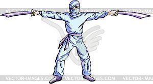 Ninja (Shinobi) - Vektor-Clipart
