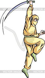Ninja (Shinobi) - Vektor-Bild