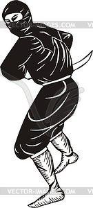 Ninja - Vektor-Clipart