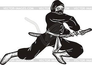 Ninja - Vektorgrafik