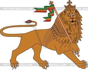 Löwe von Juda - Vektorgrafik