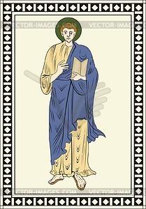 Hl. Johannes der Evangelist - Vektorgrafik