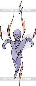 Shinobi - vektorisiertes Bild