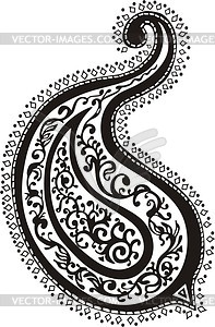 Orientalisches ornamentale Design - Vektorgrafik