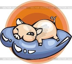 Schwein - Vektor-Bild