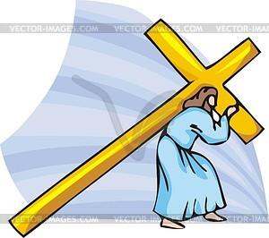 Jesus Christus - vektorisiertes Clip-Art