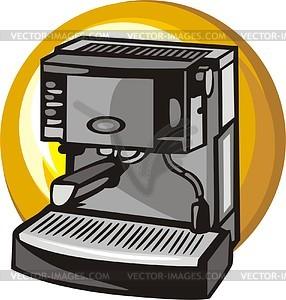 Kaffeemaschine - Vektor-Clipart / Vektor-Bild