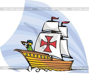 Columbus Day - Vector-Clipart / Vektorgrafik