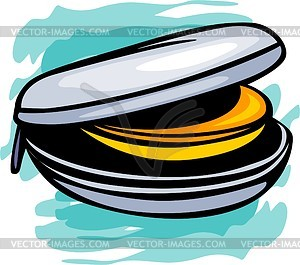 CD / DVD-Box - Clipart
