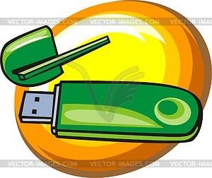 USB-Kabel - Vector-Design