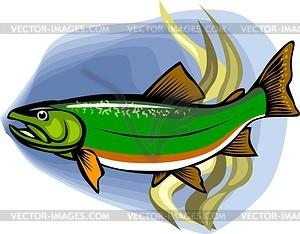 Fisch - Vektorgrafik-Design