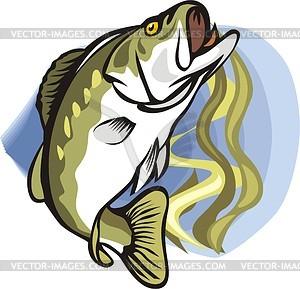 Fisch - Vector-Clipart / Vektorgrafik