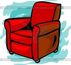 Stuhl - vektorisierte Grafik