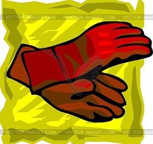 Handschuhe - Vektor-Clipart