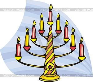 Hanukkah - vector clip art