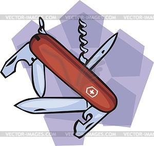 Messer - Vektorabbildung