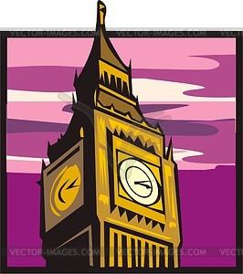 Big Ben (London) - Vektorgrafik