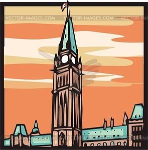 Ottawa - Stock Vektor-Clipart