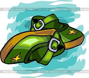 Schuhe für Kinder - Vektor Clip Art