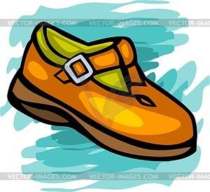 Schuhe für Kinder - Vector Clip Art