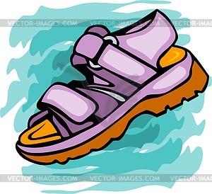 sandal for child vector clipart Computer Clip Art Computer Clip Art