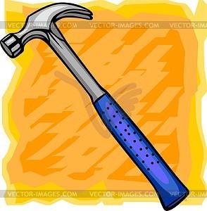 Hammer - vektorisierte Grafik
