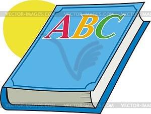 Abc-Buch - Vektorgrafik