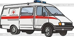 Ambulanz - Klipart
