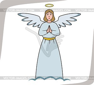 Angel - vector clip art