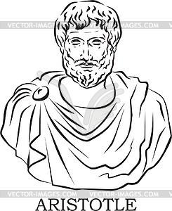 Аристотель раскраска
