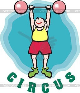 Sportler - Vector-Clipart